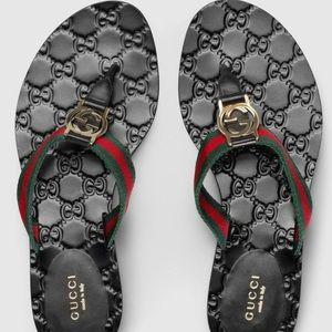 Gucci ✨ GG Women's Flip Flops